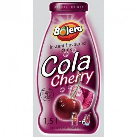 Bolero Drinks Cola-Cherry (Con stevia)