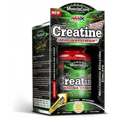 AMIX MUSCLECORE Creatina MagnaPower 120caps
