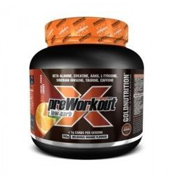 GOLD NUTRITION Pre-Workout Low Carb Extreme Force 300grs