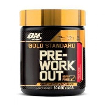 Gold Standard  Pre-workout 330grs