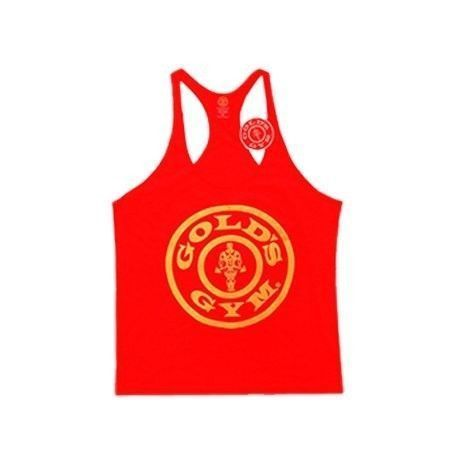 Camiseta Gold´s Gym Circular Roja