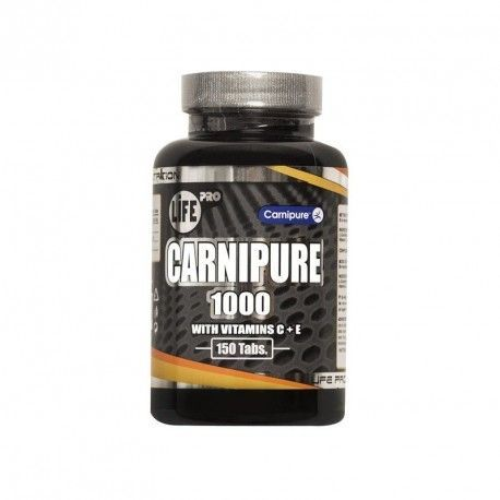 life pro carnitine carnipure 1000mg 150caps