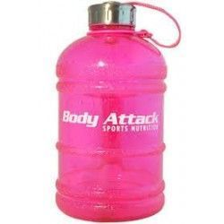 BODY ATTACK WATER BOTTLE XXL 2.2 L rosa