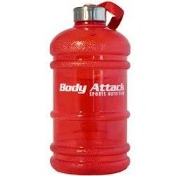 BODY ATTACK WATER BOTTLE XXL 2.2 L rojo