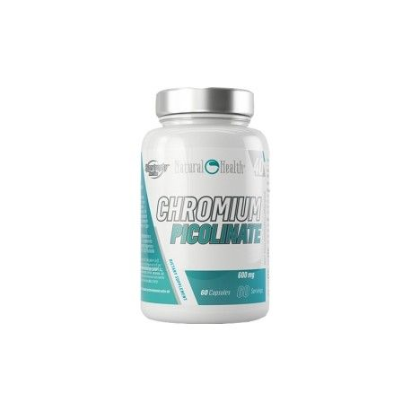 Hypertrophy Natural Health Picolinato de Cromo 60 caps