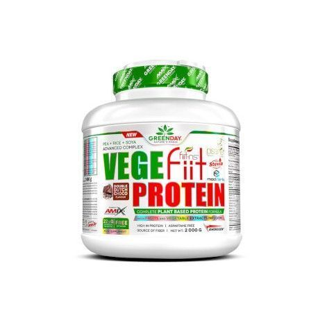 AMIX GREEN DAY VEGEFIIT PROTEIN 750GRS