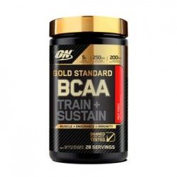 GOLD STANDARD BCAA TRAIN + SUSTAIN 266grs