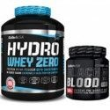PACK BIOTECHUSA HYDRO WHEY ZERO 1816 grs + BLACK BLOOD CAF + 300GRS
