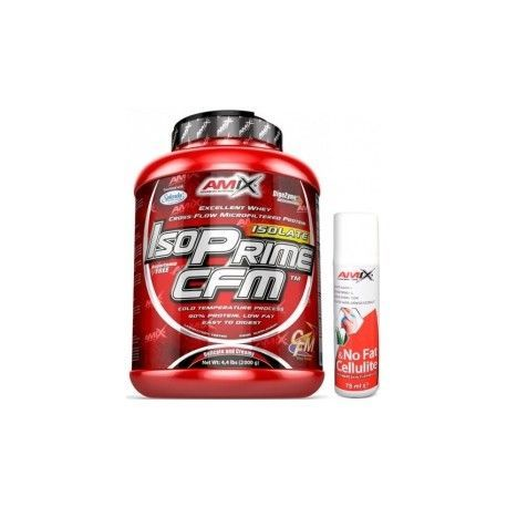 PACK AMIX ISOPrime CFM Isolate 2Kgrs + FAT BURNER GEL 75ML