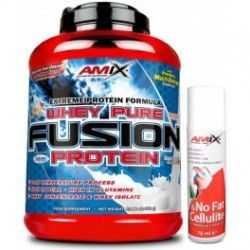 PACK AMIX Whey Pure FUSION 2.3Kgrs +NO FAT & CELLULITE 75ML