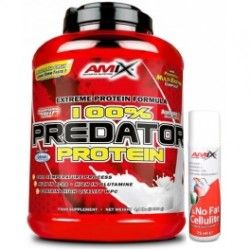 PACK AMIX Predator Protein 2 Kgrs + NO FAT & CELLULITE 75ML