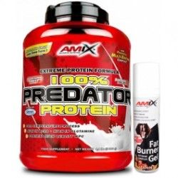 PACK AMIX Predator Protein 2 Kgrs + FAT BURNER GEL 75ML