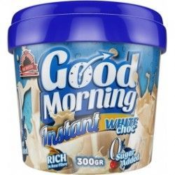 max protein GOOD MORNING chocolate blanco  INSTANT 300grs