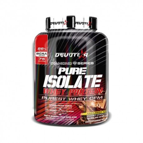 DEVOTIKA PURE ISOLATE WHEY PROTEIN 2268gRS