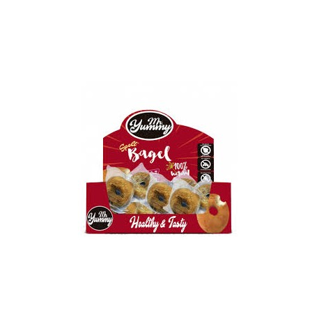 MR. YUMMY BAGEL ROSQUILLA CON CHOCOLATE 21 Bagel de 60gRS
