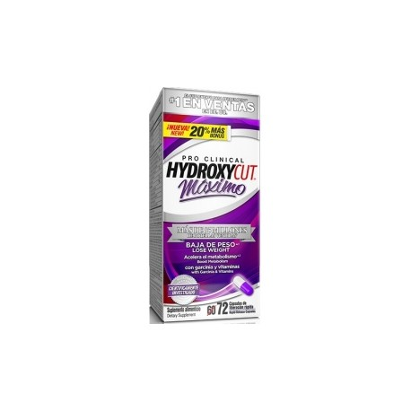 Muscletech Pro Clinical Hydroxycut Maximo 72 caps