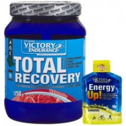 pack victory endurance total recovery 1250grs + Energy Up! Gel 1 gel x 40 grs