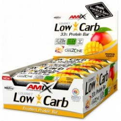 Amix Low-Carb 33% Protein Bar -15 barritas x 60 gr