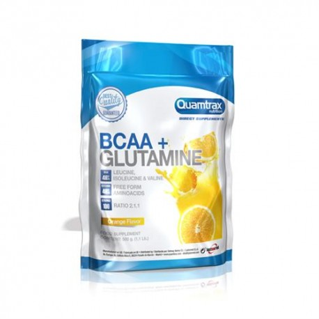quamtrax direct BCAA + GLUTAMINE 500grs
