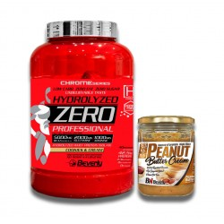 PACK BEVERLY NUTRITION Hydrolyzed Zero Professional 2 Kg + CREMA DE CACAHUETE