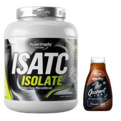 PACK HYPERTROPY NUTRITION ISATC CFM ISOLATE 2 KG + The Gourmet Sirope Chocolate 425 ml