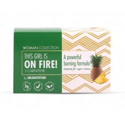 GOLD NUTRITION l-carnitine onfire woman 15x10ml