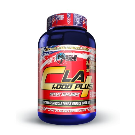 Quemagrasas CLA 1000 Plus 90 caps de Muscle Force