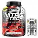 PACK MUSCLETECH NITRO TECH PERFORMANCE SERIES 1,8 KG + Platinum Glutamine 300 g
