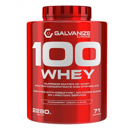 Proteína 100% Whey Isolate 2,28Kgrs Galvanize Nutrition
