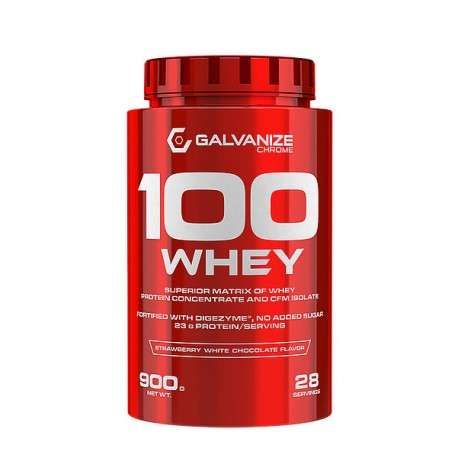 Proteína 100% Whey Isolate 900 grs Galvanize Nutrition