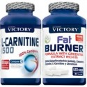 Pack Victory Endurance L-Carnitina 1500 100 caps + Fat Burner 120 caps