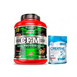 Amix Musclecore CFM Nitro Protein Isolate 2 kg + Creatine 500grs