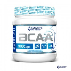 BCAA 300 Caps 1000 mg Scientiffic Nutrition