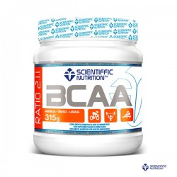 BCAA 315g Naranja Scientiffic Nutrition