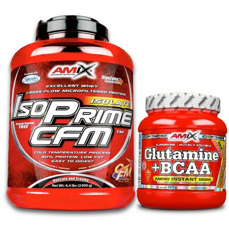 PACK AMIX ISOPRIME CFM 2 KG + BCAA MICRO INSTANT JUICE 500 G