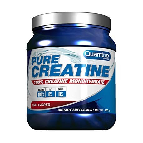 QUAMTRAX NUTRITION CREATINA 100% PURE 400GRS