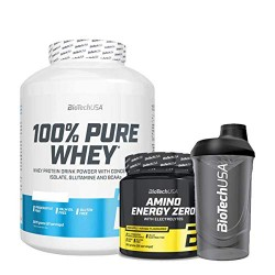 PACK BIOTECH USA 100% Pure Whey 2270 grs + 100% Pure Whey 454 grs