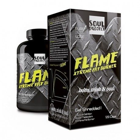 SOUL PROJECT Flame Xtreme Fat Burner 120 cápsulas