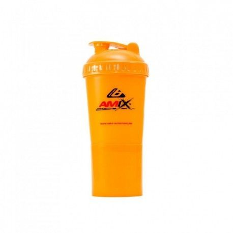 AMIX Monster Shaker Bottle color Naranja